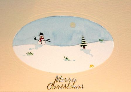 Handmade Christmas cards, Hand painted Christmas cards,snowman scene,Christmas greetings cards,handmade Christmas cards,handmade Christmas greetings cards,handmade christmas greeting cards,making