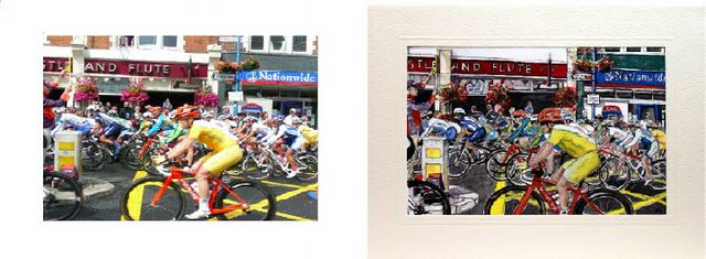 Commonwealth games 2012 cycle race