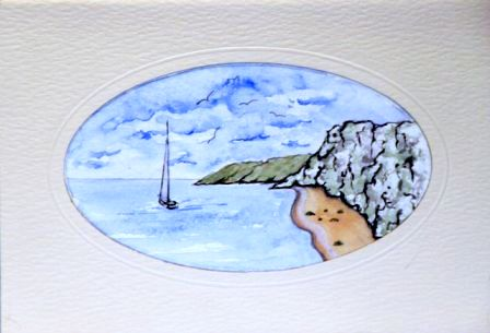 Seascape greeting cards