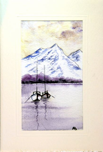 Boats in front of mountains greetings cards,handmade cards,handmade greetings cards,handmade greeting cards,making greeting cards,card making,make your own,card making,make greeting cards,homemade cards,birthday cards,christmas cards,hand made greeting card,greeting cards,Free e-cards, printable birthday cards