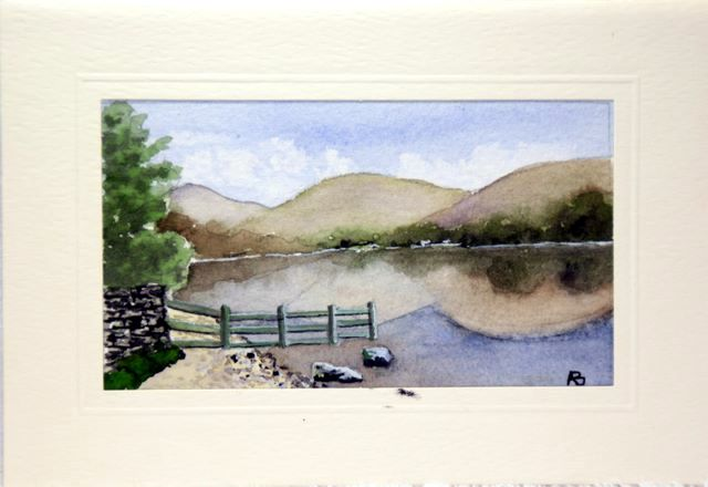 Buttermere lake Birthday Cards