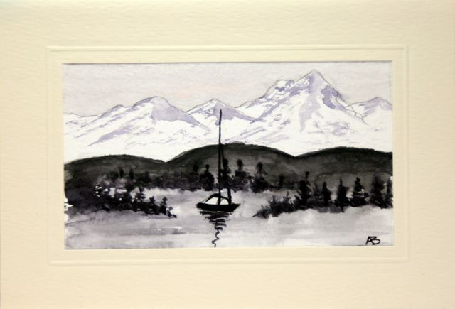 Mountain sail