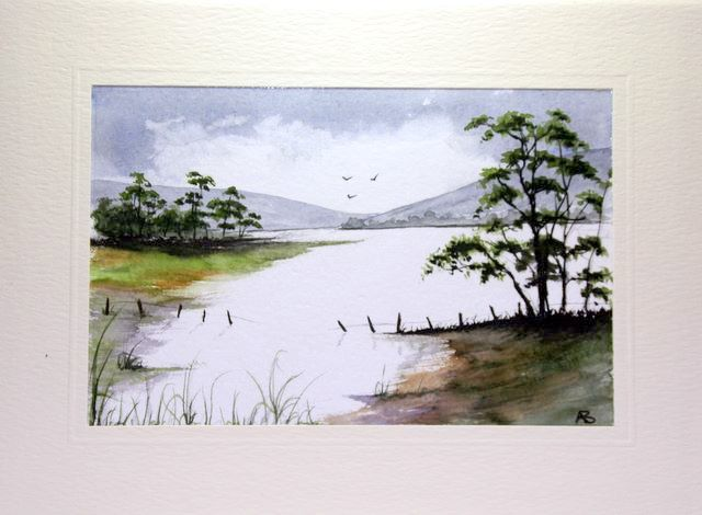 Lake surrounded by Hills and trees greetings cards,handmade cards,handmade greetings cards,handmade greeting cards,making greeting cards,card making,make your own,card making,make greeting cards,homemade cards,birthday cards,christmas cards,hand made greeting card,greeting cards,Free e-cards, printable birthday cards