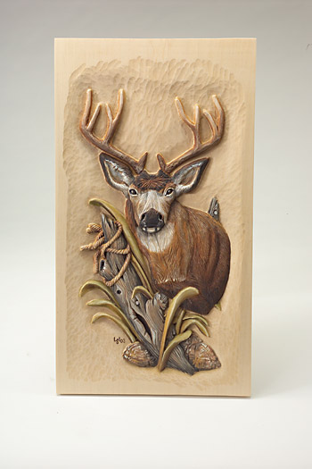 Deer Wood Burning Patterns