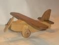 Arts and Crafts - Handmade wooden toy plane for a child,wood, woodwork, woodworking, workshop, workshops, creative, creativity, trees
