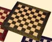 Chess board hand crafted from selected hardwoods