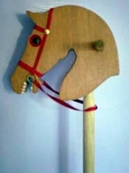 Hobby Horse crafted from selected softwood