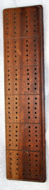 wood Cribbage Board
