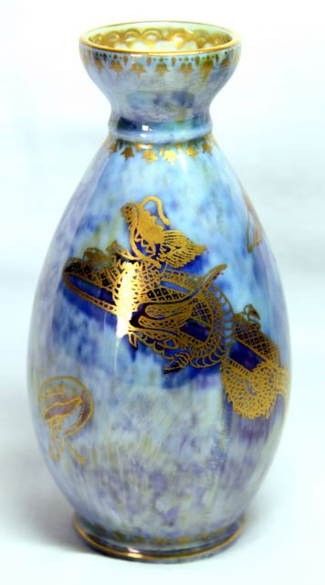 Arts and Crafts - Wedgwood Dragon Lustre Vase by Daisy Makeig-Jones