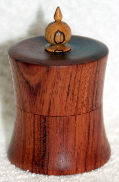 Bubinga ring box