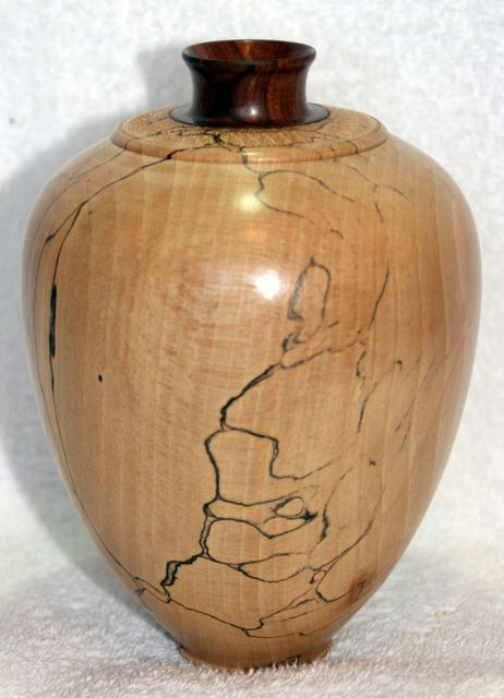 Spalted Beach Vase woodturning, woodturnings, turning, turnings, turnery, turner, turners, woodturner, woodturners, lathe, lathes, wood, woodwork, woodworking, workshop, workshops, creative, creativity, trees