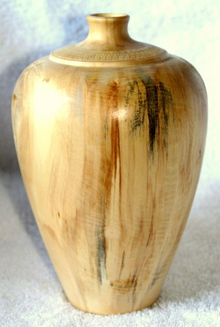 Arts and Crafts - Sycamore Vase woodturning, woodturnings, turning, turnings, turnery, turner, turners, woodturner, woodturners, lathe, lathes, wood, woodwork, woodworking, workshop, workshops, creative, creativity, trees